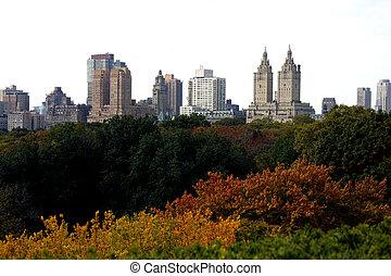 parque central, york, nuevo