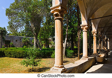 parque, croácia, palácio