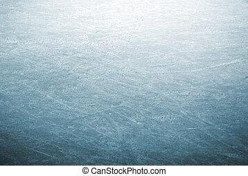 parque de patín, hielo