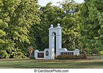 parque, emmarentia, monumento