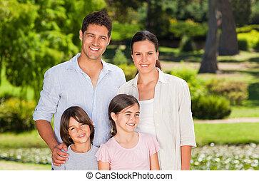 parque, família
