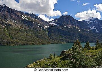 parque nacional del glaciar