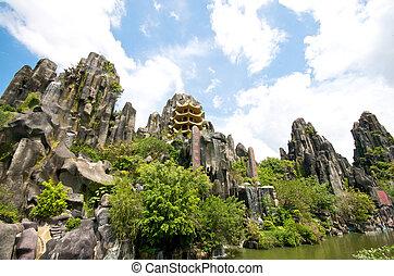 parque, safari, vietnam