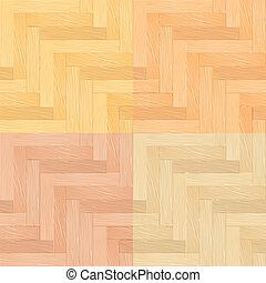 Parquet - Color Set of Parquet Seamless Pattern....