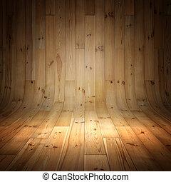 parquet, fundo, madeira