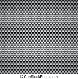 parrilla, pattern., metal, seamless