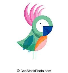 parrot bird fauna