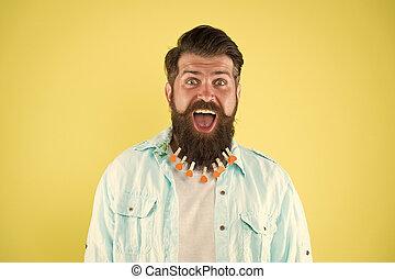 parrucchiere, barbershop., uomo, style., mettere, beard., maschio, essiccamento, fiducioso, brutale, washing., secondo, handsome., capelli, concetto, barbuto, bucato, molletta, cuori, casuale