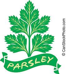 parsley label