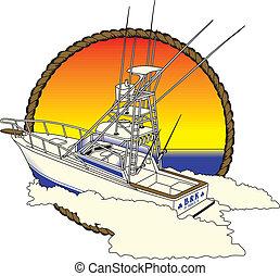 part felől, halászat, boad