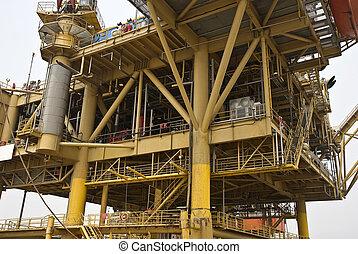 part felől, installatio, termelés, olaj