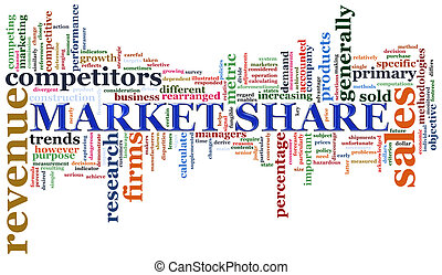 part, mot, marché, étiquettes
