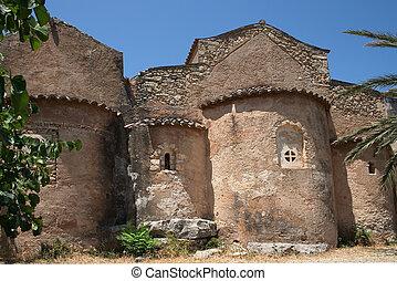 Byzantine church - Part of a Byzantine church on Crete