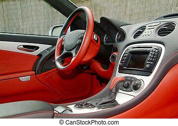 part of a car dashboard