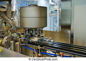 Part of a machine for the production of medicines
