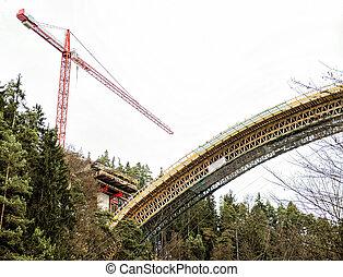 Part of a new Bridge
