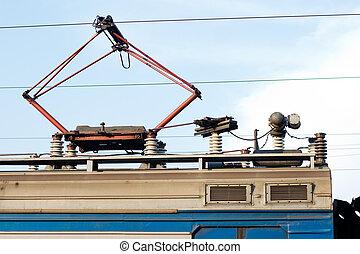 Electric engine trolley