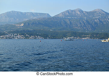Part of beautiful Bay of Kotor