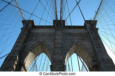 Part of bridge - part of the brooklyn bridge