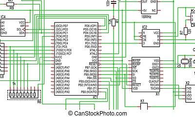 Part of Circuit Diagram