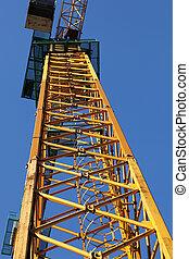 part of construction crane