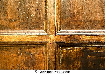 Part of door
