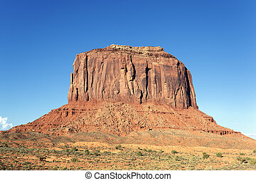 part of famous Monument Valley