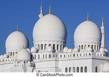 Part of Grand Mosque - Part of Abu Dhabi Sheikh Zayed...