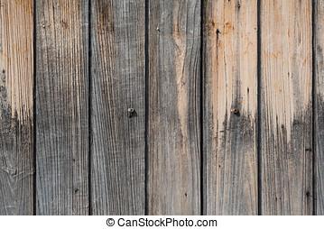 Part of old wooden door