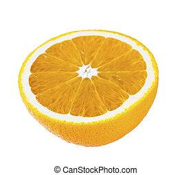 part of orange