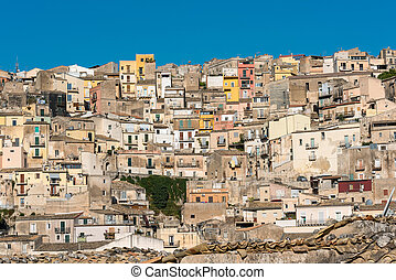 Part of Ragusa Ibla in Sicily - Part of the old barock town...