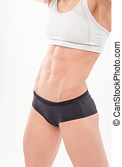 part of the athletic female body