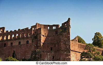 part of the Heidelberg castle