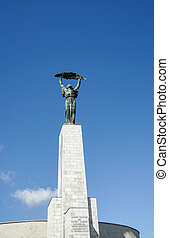 Part of the Liberty or Freedom Statue in Budapest