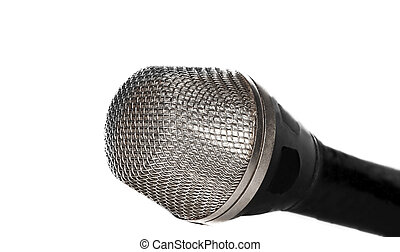 Part of the microphone