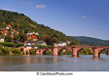 part of the old bridge