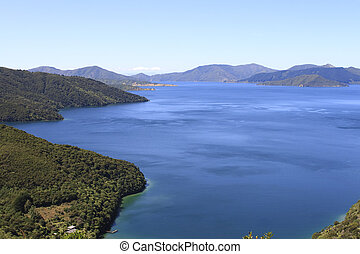 Marlborough Sounds in New Zealand