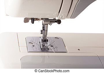 Part of the sewing machine.