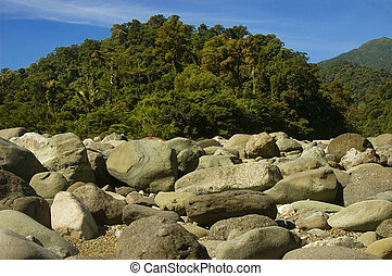 Part of the Sierra Madre Mountain Ranges in Luzon, Philippines