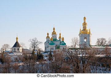 Kiev Pechersk Lavra - Part of the temple complex of the Kiev...