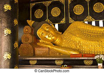 Wat Chedi Luang - part of Wat Chedi Luang in Chiang Mai