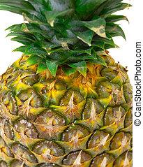 Part Ripe Pineapple Fruit