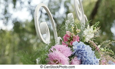 Part wedding arch