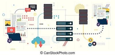 partage données, fichier, backup.