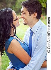 partage, romantique, intime, couple, moment, joyeux