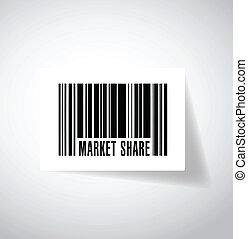parte, barcode, desenho, mercado, ilustração