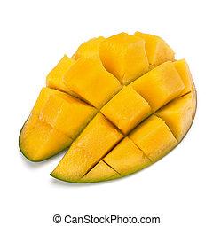 parte, cortar, mango