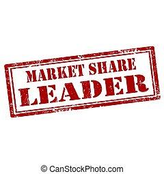 parte, líder, mercado