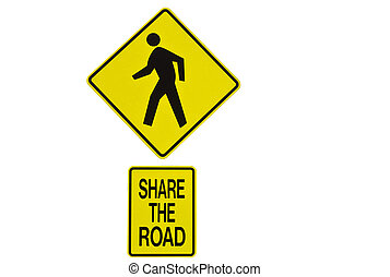 parte, sinal estrada