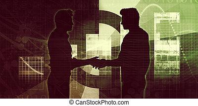 Partenaires,  Business